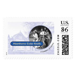 Hawthorne Logo Stamps