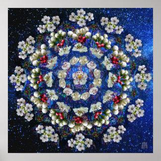 Hawthorne Rose Mandala Print