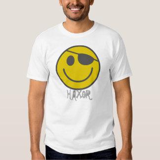 HaX0r Smiley T-shirt