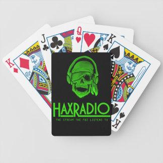 Haxradio playing card deck