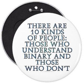 Hay 10 clases de gente… pin