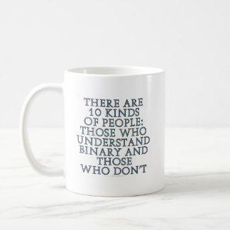 Hay 10 clases de gente… tazas