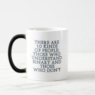 Hay 10 clases de gente… tazas de café