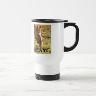 Hay! 15 Oz Stainless Steel Travel Mug