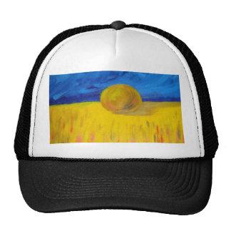 Hay bale Hat