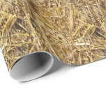 Hay Bale Wrapping Paper at Zazzle