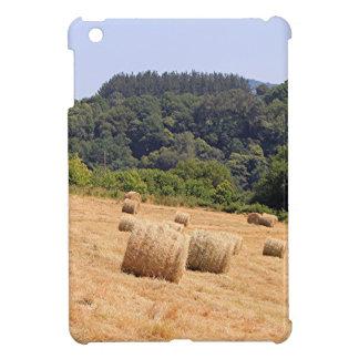 Hay bales along El Camino, Spain Case For The iPad Mini
