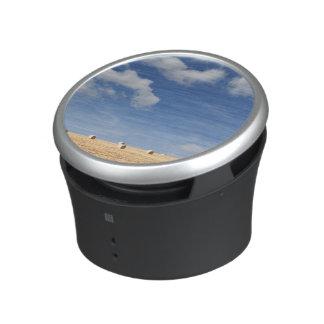 Hay Bales on Field Bluetooth Speaker
