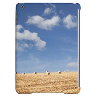 Hay Bales on Field iPad Air Covers