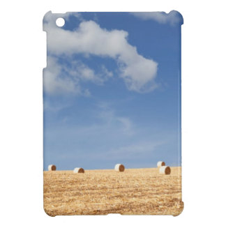 Hay Bales on Field iPad Mini Cover