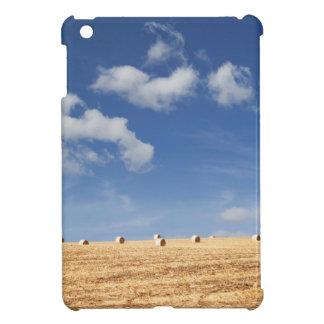 Hay Bales on Field iPad Mini Covers