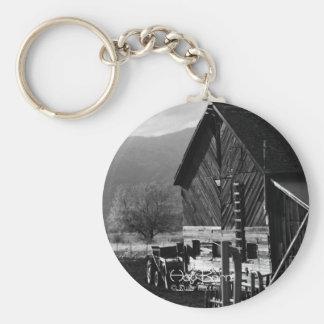 Hay Barn Keychain