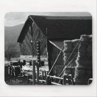 Hay Barn Mouse Pad