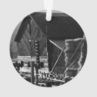 Hay Barn Ornament