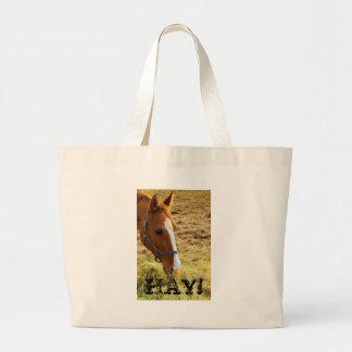 Hay! Canvas Bag
