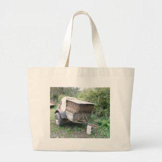 Hay Cart Tote Bag