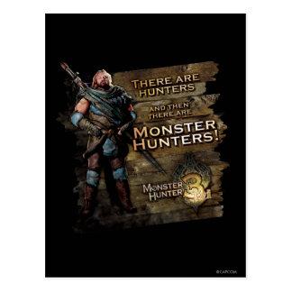Hay cazadores, y entonces hay… postales