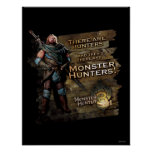 Hay cazadores, y entonces hay… póster