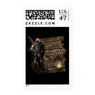 Hay cazadores, y entonces hay… sello postal