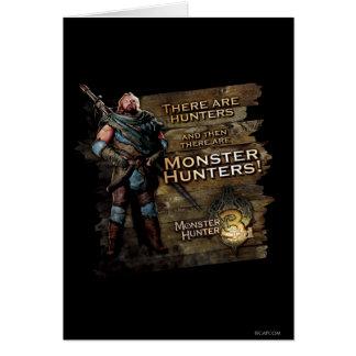 Hay cazadores, y entonces hay… tarjeta de felicitación