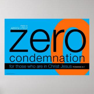 Hay condenación cero póster