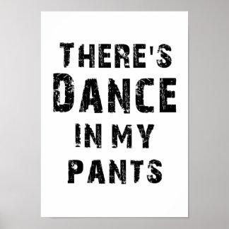 Hay danza en mis pantalones impresiones