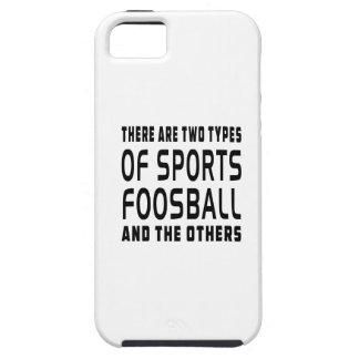 Hay dos tipos de deportes Foosball iPhone 5 Cobertura