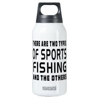 Hay dos tipos de pesca deportiva