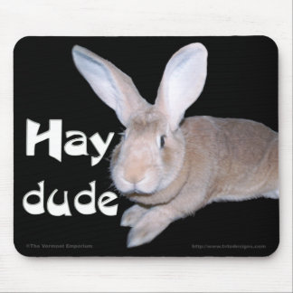 Hay Dude Mouse Pad