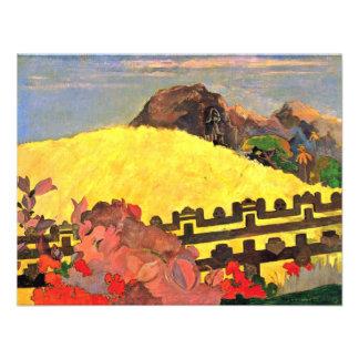 Hay el templo Parahi Te Marae por Paul Comunicado Personalizado
