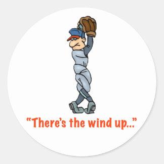 Hay el viento para arriba… Pegatina