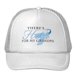 Hay esperanza del abuelo del cáncer de próstata gorras