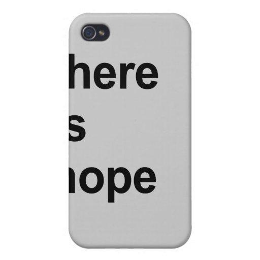 hay esperanza iPhone 4/4S carcasas