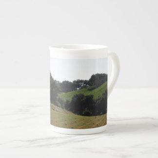 Hay Field Below Vineyard in Paso Robles Tea Cup