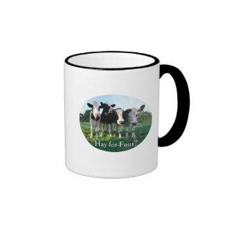 Hay-for-Four Ringer Coffee Mug