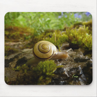 hay for snail day! mouse pad