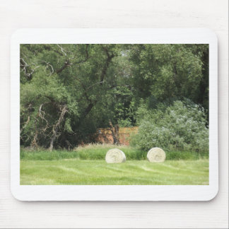 Hay Harvest Mouse Pad