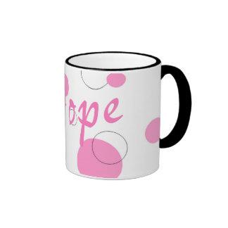 Hay Hope~mug Taza De Dos Colores