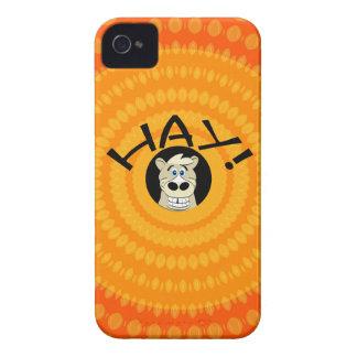 Hay Horse Orange iPhone 4 Case