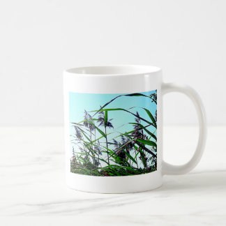 Hay in the summer classic white coffee mug