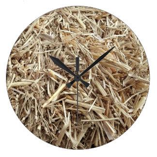 Hay Is that a Barnyard Ninja Camo Wall Clock