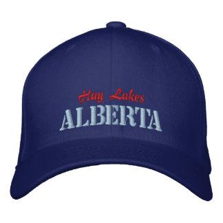 Hay Lakes, Alberta Canada Hat Embroidered Baseball Cap