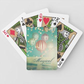 Hay mágico en el aire cartas de juego