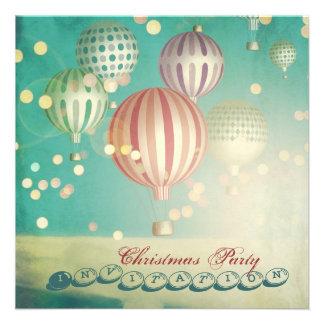 Hay mágico en el aire - la fiesta de Navidad invit Comunicado Personalizado