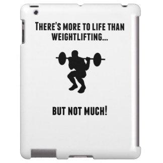 Hay más a la vida que levantamiento de pesas funda para iPad