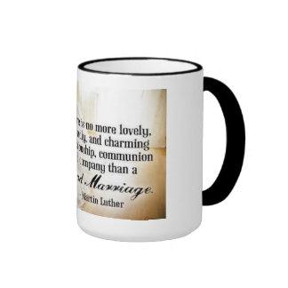 Hay más precioso, amistoso y encantador… taza de dos colores