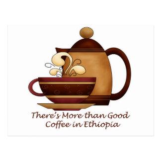 Hay más que el buen café en Etiopía Postal