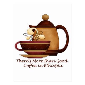 Hay más que el buen café en Etiopía Postales