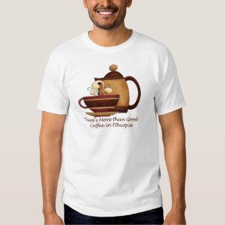 Hay más que el buen café en Etiopía Remeras