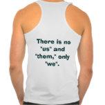 Hay ningún nosotros camisetas
